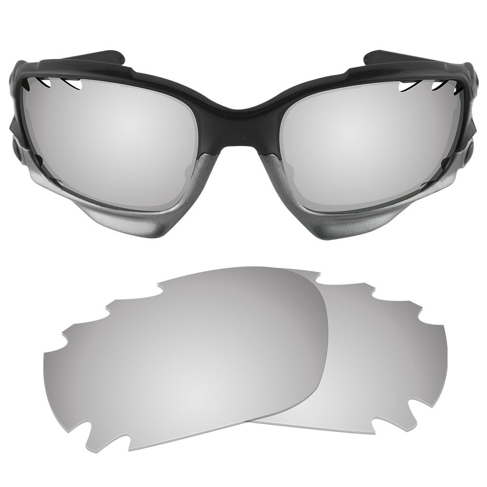78bde225b8 ... Dynamix Replacement Lenses for Oakley Racing Jacket Vented - Polarized  Titanium 1 ...