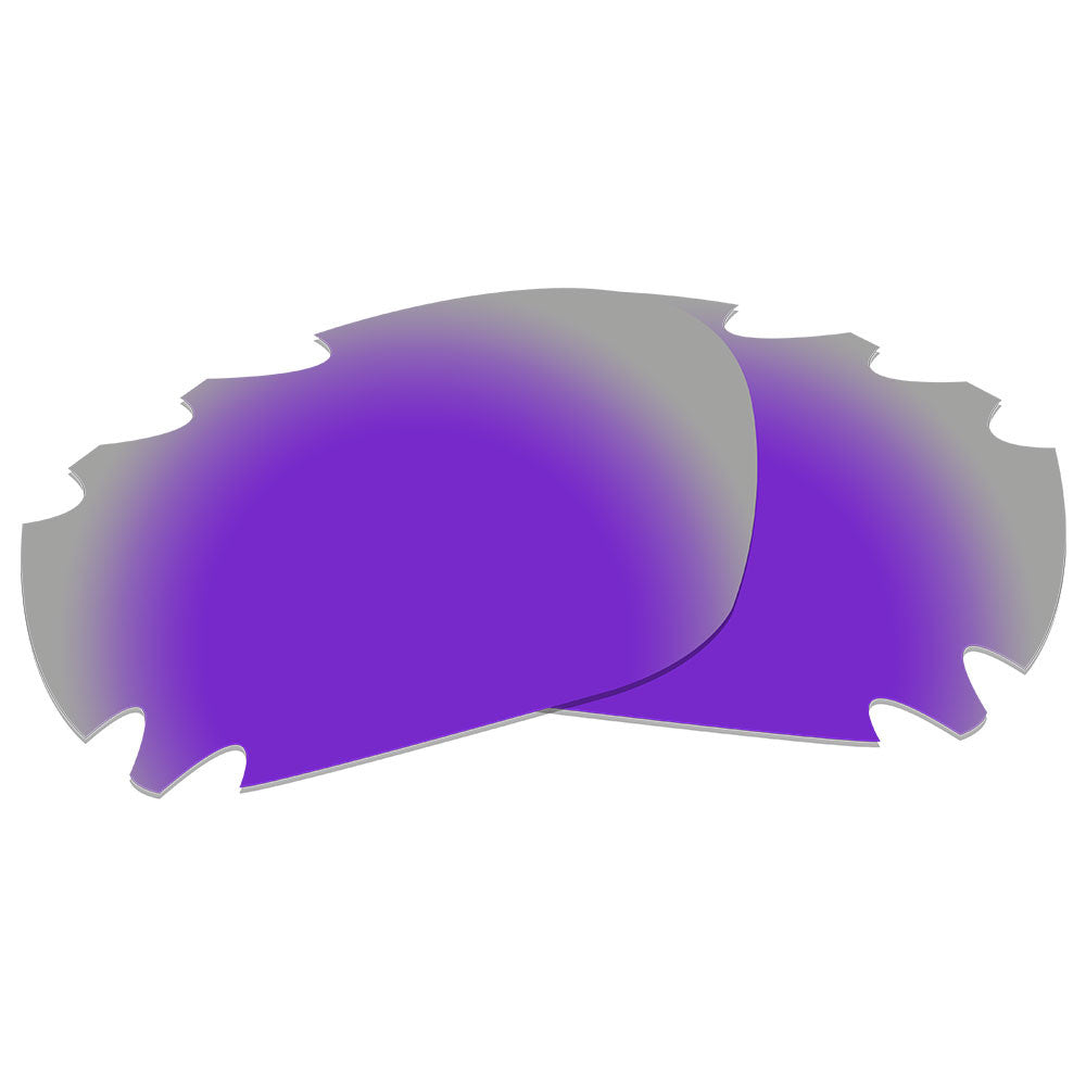 585a600e92b4e ... Dynamix Replacement Lenses for Oakley Racing Jacket Vented - Polarized  Violet Purple 2 ...