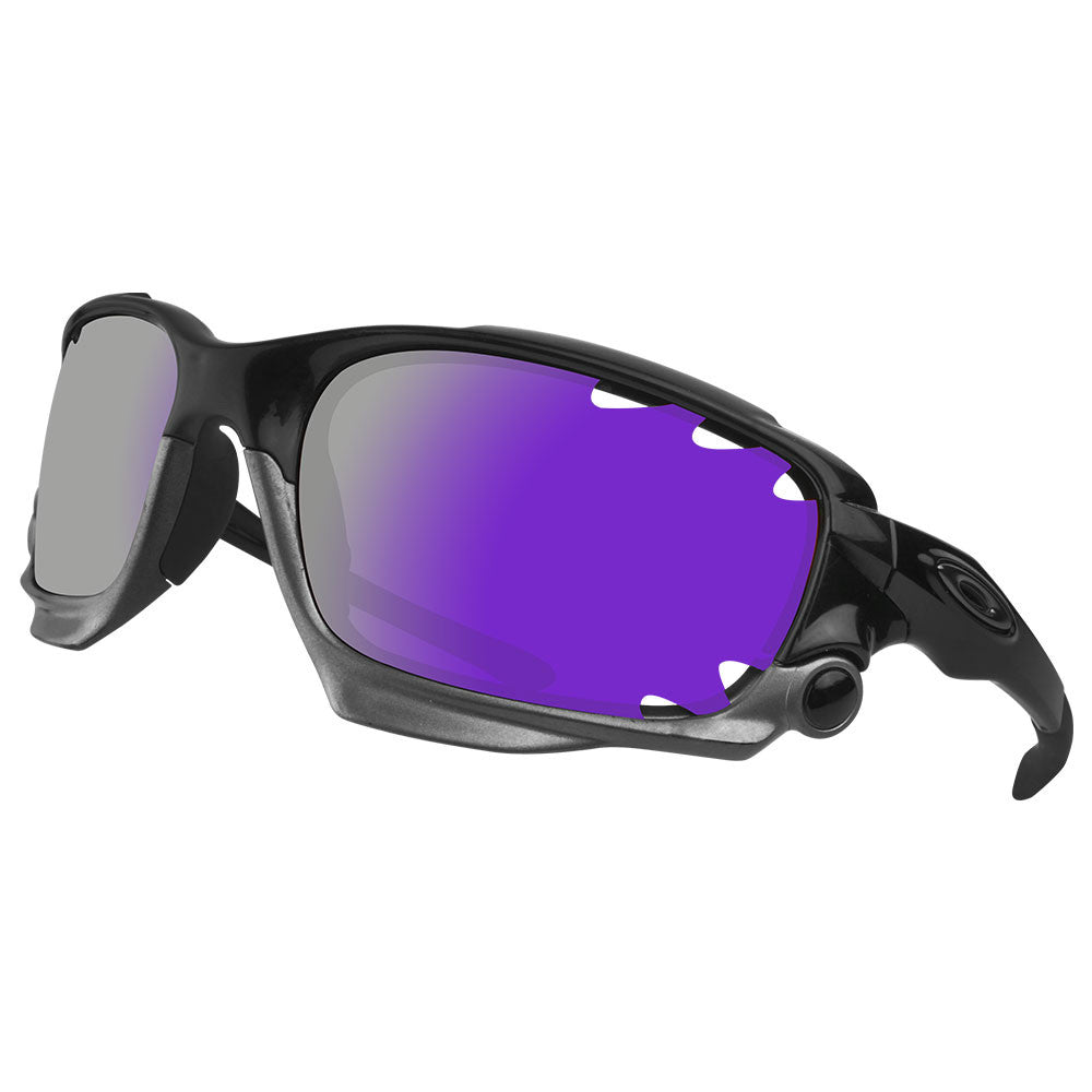 d316b0bae7976 Dynamix Replacement Lenses for Oakley Racing Jacket Vented - Polarized  Violet Purple 5 ...