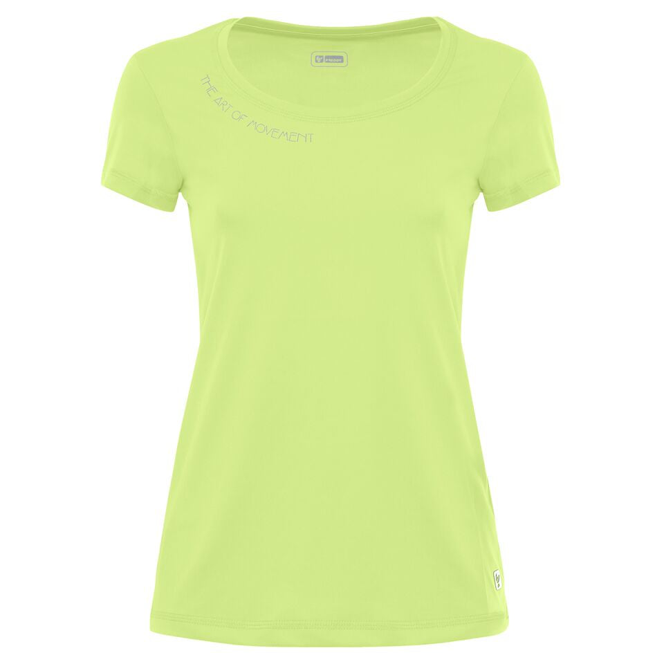 THE ART OF MOVEMENT®/ Lime Yellow T-shirt/ Short Sleeve