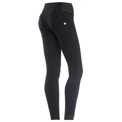 WR.UP D.I.W.O.®PRO / Pure Black Cellulite Reduction / Mid Long Length / High Waist