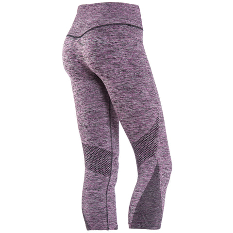 ACTIVEWEAR / Dusty Pink Leggings / Short Length / Low Waist