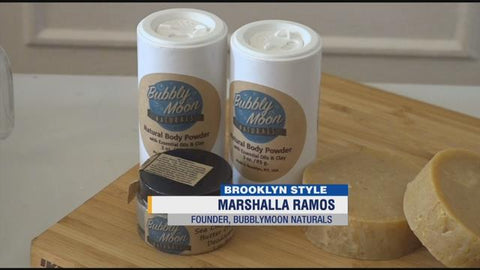 News 12 Features Bubbly Moon Naturals Founder