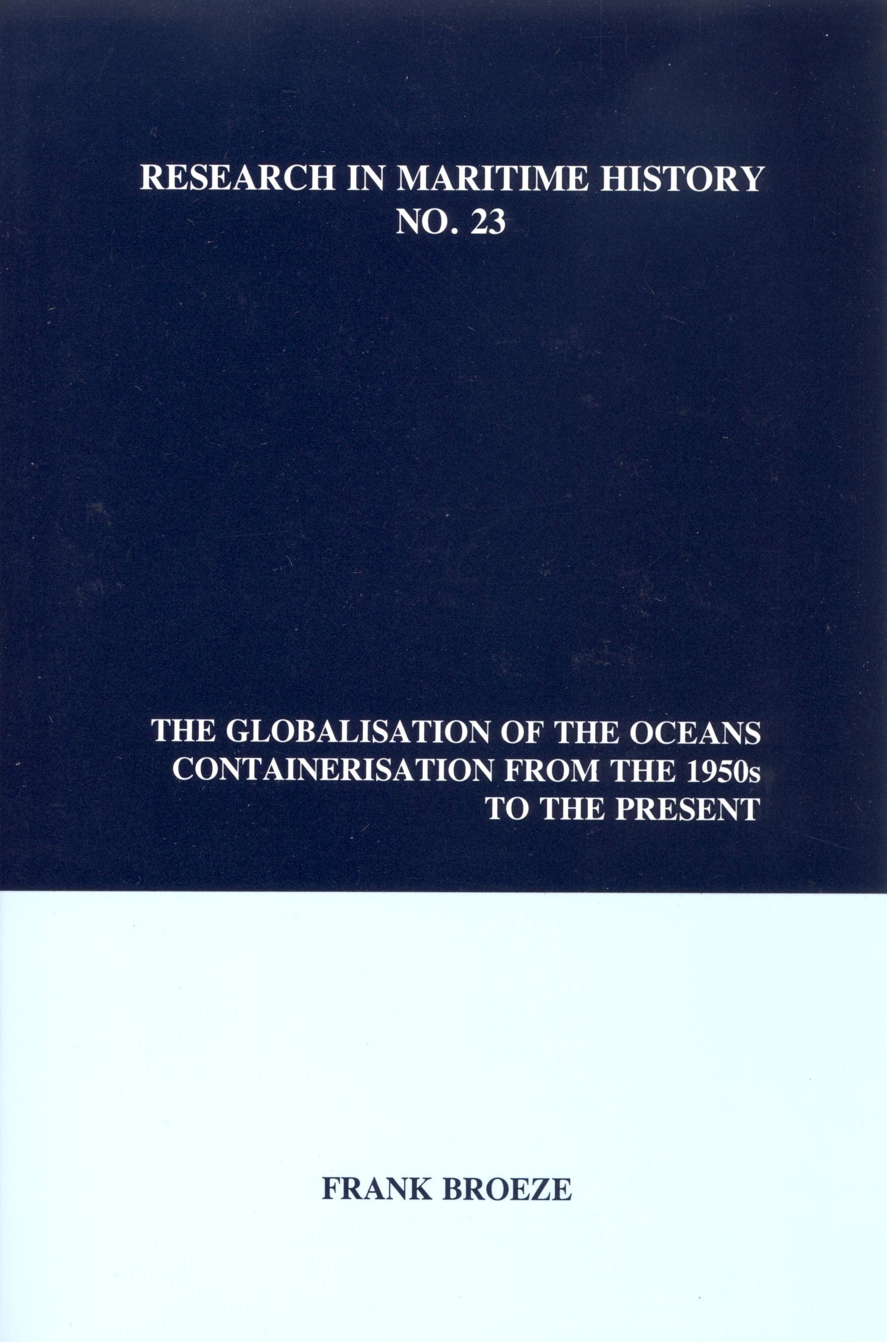 The Globalisation of the Oceans