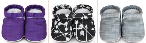 American Made Baby Shoes l Clamfeet