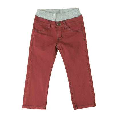 Rusty Red Twill Pants