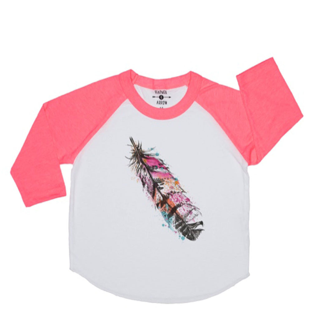 Feather Baseball Tee