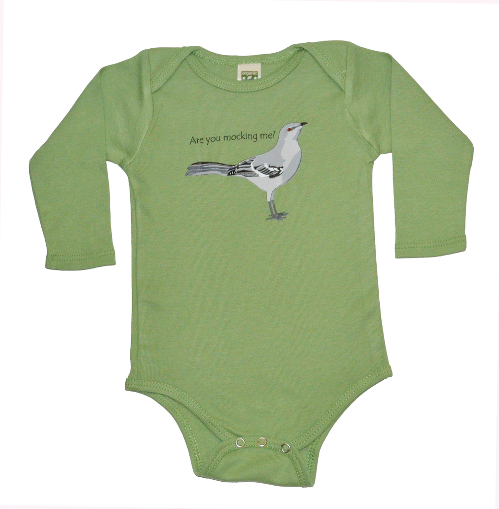 Green Bird One Piece