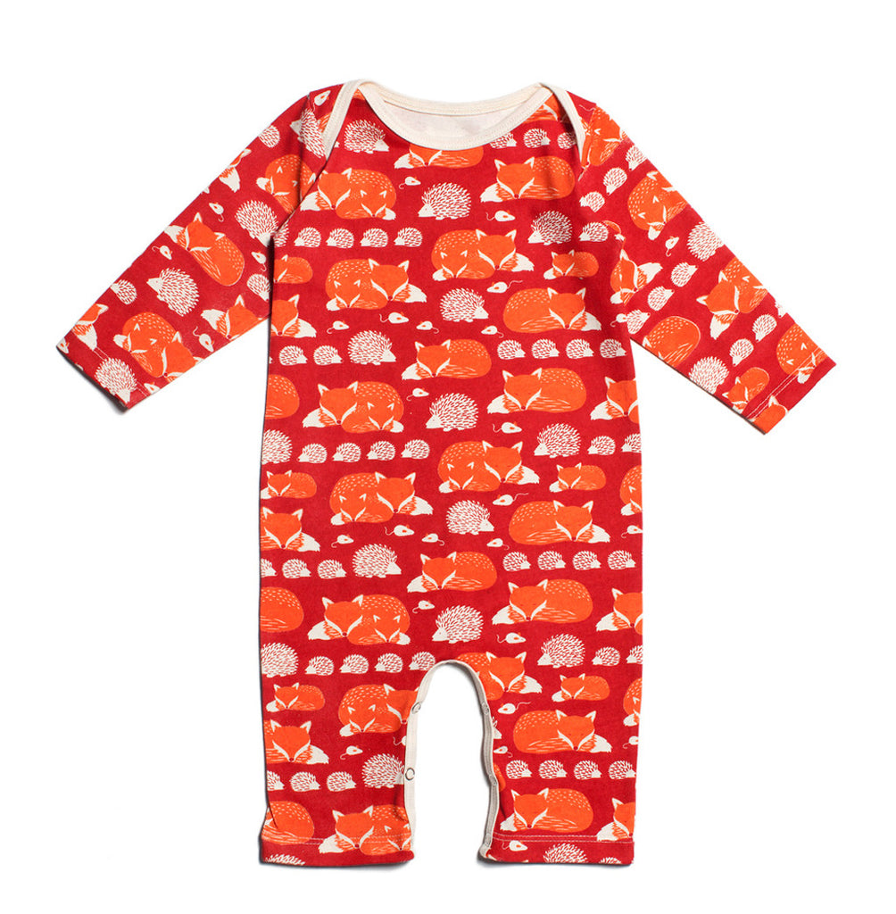 Fox and Hedgehog Romper
