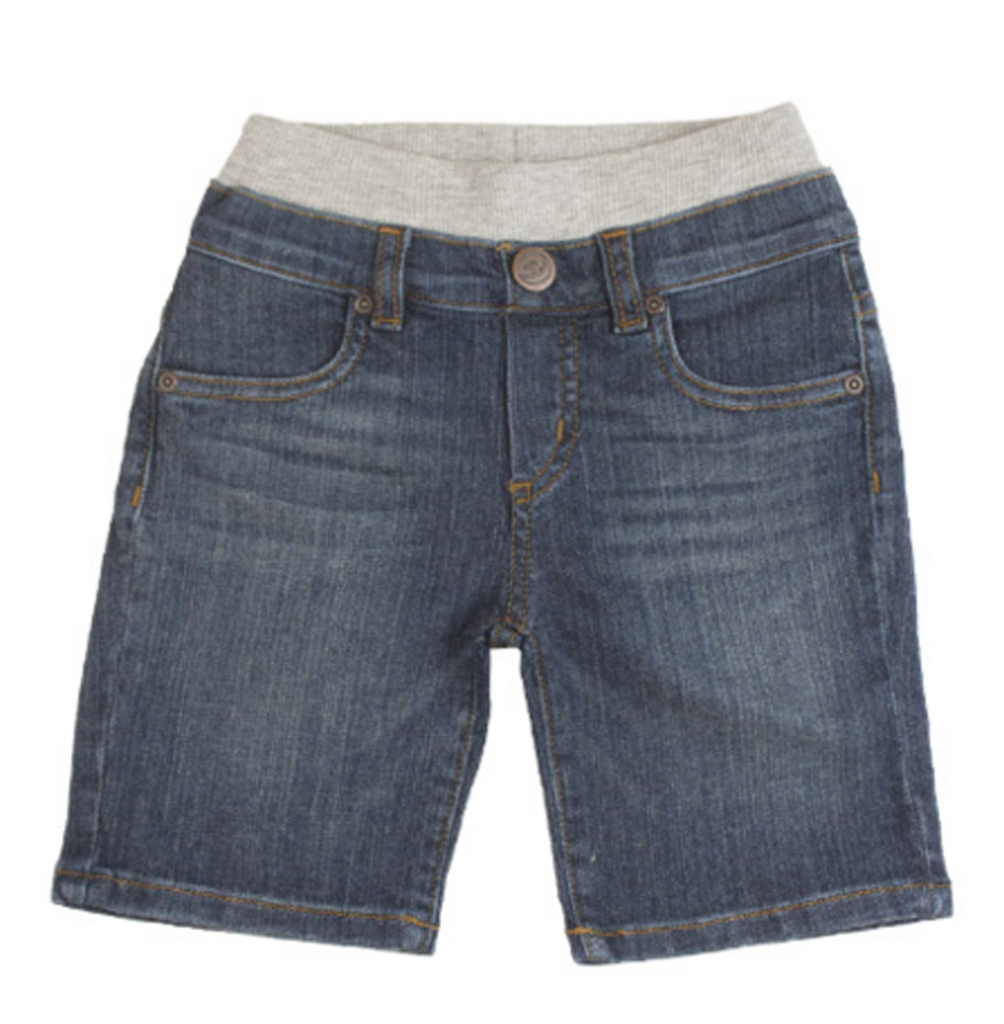 Medium Wash Denim Shorts
