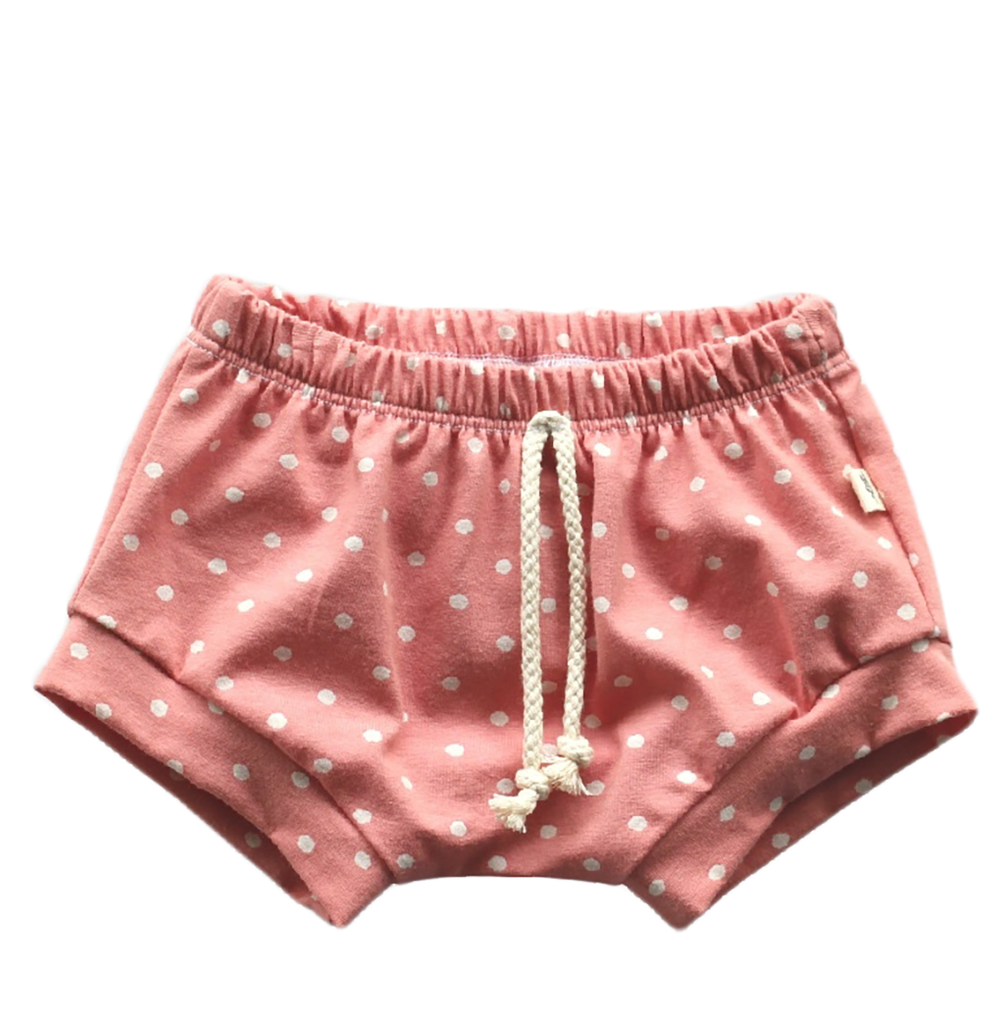Pink Polka Dot Shorties