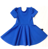 Royal Fit and Flare Dress