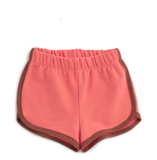 Coral and Chestnut Shorts