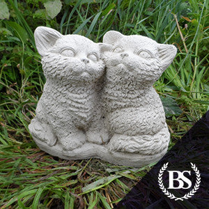 Two Kittens - Garden Ornament Mould | Brightstone Moulds