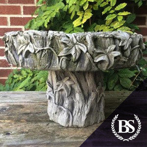 Ivy Bird Bath - Garden Ornament Mould | Brightstone Moulds