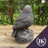 Blue Tit on Rock - Garden Ornament Mould | Brightstone Moulds