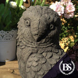 Owl on Rock - Garden Ornament Mould | Brightstone Moulds