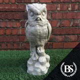 Tall Owl - Garden Ornament Mould | Brightstone Moulds