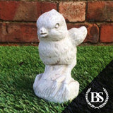 Small Chick - Garden Ornament Mould | Brightstone Moulds