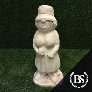 Crown Bowls Lady - Garden Ornament Mould | Brightstone Moulds