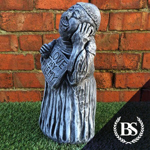 Love Thy Enemy - Garden Ornament Mould | Brightstone Moulds