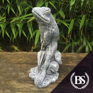 Frog with Brolly - Garden Ornament Mould | Brightstone Moulds