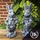 Peter & Mrs Rabbit - Garden Ornament Mould | Brightstone Moulds