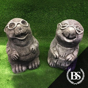 Mr & Mrs Mole - Garden Ornament Mould | Brightstone Moulds