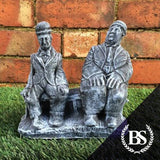 Laurel & Hardy - Garden Ornament Mould | Brightstone Moulds