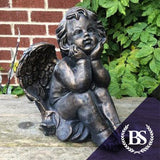 Winged Cherub - Garden Ornament Mould | Brightstone Moulds