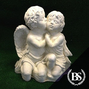 Twin Cherub - Garden Ornament Mould | Brightstone Moulds