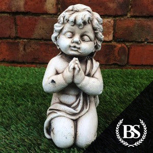 Cherub Praying - Garden Ornament Mould | Brightstone Moulds