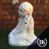 Dutch Girl - Garden Ornament Mould | Brightstone Moulds