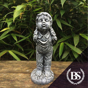 Kissing Girl - Garden Ornament Mould | Brightstone Moulds