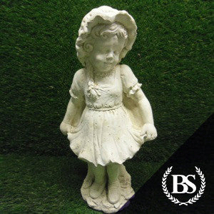 Victorian Curtsy Girl - Garden Ornament Mould | Brightstone Moulds