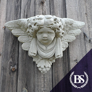 Cherub Wall Planter - Garden Ornament Mould | Brightstone Moulds