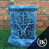 Scroll Plinth - Garden Ornament Mould | Brightstone Moulds