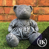 Teddy in Dress - Garden Ornament Mould | Brightstone Moulds