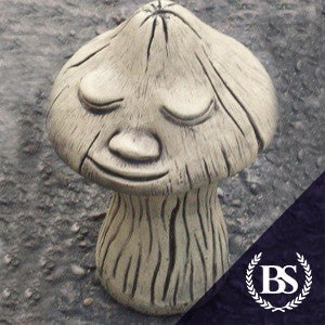 Smiling Mushroom - Garden Ornament Mould | Brightstone Moulds