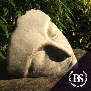 Modern Art Face - Garden Ornament Mould | Brightstone Moulds