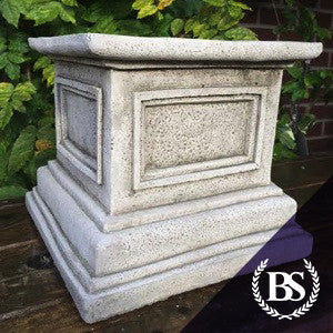 Square Plinth - Garden Ornament Mould | Brightstone Moulds