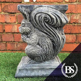 Squirrel Bench Leg - Garden Ornament Mould | Brightstone Moulds
