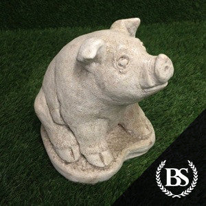 Small Pig - Garden Ornament Mould | Brightstone Moulds