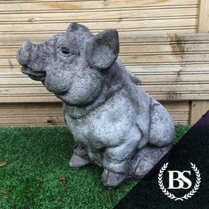 Pig - Garden Ornament Mould | Brightstone Moulds