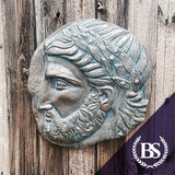 Ancient Greek Zeus Plaque - Garden Ornament Mould | Brightstone Moulds
