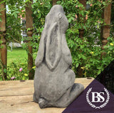 Medium Moon Gazing Hare - Garden Ornament Mould | Brightstone Moulds
