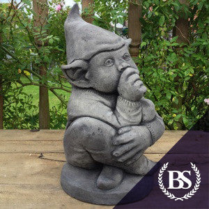 Sucking Thumb Pixie - Garden Ornament Mould | Brightstone Moulds