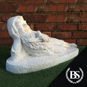 Laying Gnome - Garden Ornament Mould | Brightstone Moulds