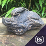 Laying Dragon - Garden Ornament Mould | Brightstone Moulds