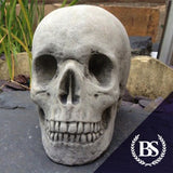 Skull - Garden Ornament Mould | Brightstone Moulds